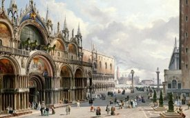 Carlo Grubacs - St. Mark's and The Doge's Palace, Venice