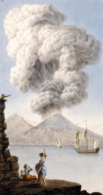 Sir William Hamilton - Eruption of Vesuvius