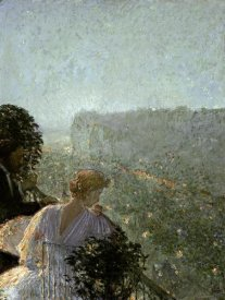Childe Hassam - Summer Evening, Paris