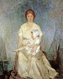 Charles Webster Hawthorne - Motherhood Triumphant