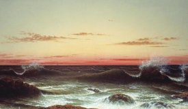 Martin Johnson Heade - Sunset