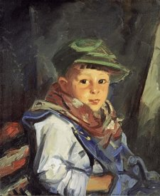 Robert Henri - Boy With Green Cap (Chico)