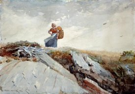 Winslow Homer - Down The Cliff