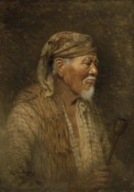 Grace Carpenter Hudson - Portrait of a Pomo Chief