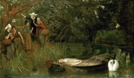 Arthur Hughes - The Lady of Shalott
