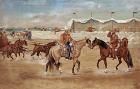 Ernesto Icaza - The Arrival of The Boss at The Rodeo