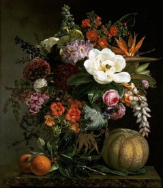 Johan Laurents Jensen - Still Life in a Greek Vase
