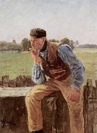 Friedrich Kallmorgen - A Dutch Peasant