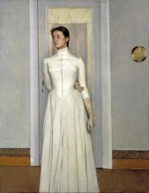 Fernand Khnopff - Portrait of Marguerite