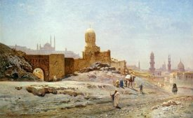 Ernst Korner - A View of Cairo