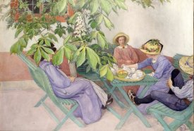 Carl Larsson - Under The Chestnut Tree