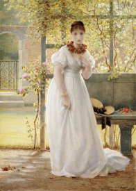 George Dunlop Leslie - In The Walled Garden