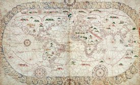 Joan Martines - Portolan Atlas of The World
