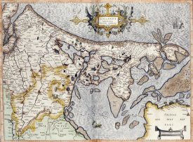 Rumold Mercator - Map of Holland