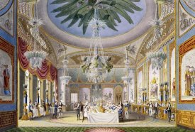 John Nash - The Banqueting Room at The Royal Pavilion, Brighton