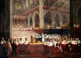Edmund Thomas Parris - The Coronation of Queen Victoria