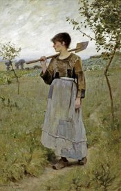 Charles Sprague Pearce - Home From The Fields