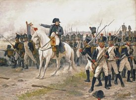 Edouard-Bernard-Debat Ponsan - Napoleon at The Battle of Friedland
