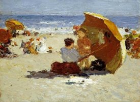 Edward Henry Potthast - Late Afternoon, Coney Island