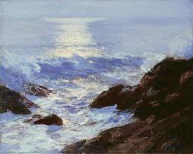 Edward Henry Potthast - Moonlight
