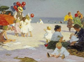 Edward Henry Potthast - On The Beach