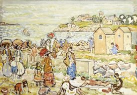 Maurice Brazil Prendergast - Bathers and Strollers at Marblehead