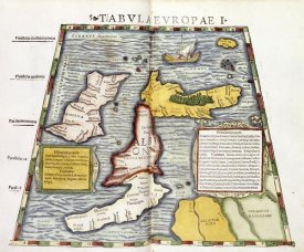 Claudius Ptolemaeus - Map of Britain