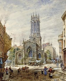 Louise Rayner - All Saints Pavement, York