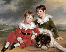 Ramsay Richard Reinagle - Portrait of Two Boys