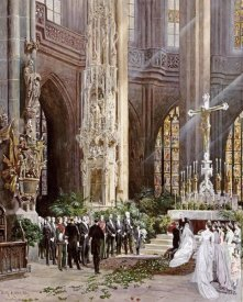 Wilhelm Ritter - A Wedding, Jacobi Church, Nuremberg