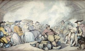 Thomas Rowlandson - The Irish Steam Packet