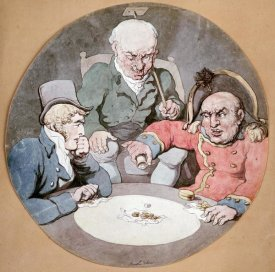 Thomas Rowlandson - A Game of Dice
