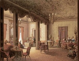 Carl Ludwig Rundt - The Interior of The Salon of Tsarina Alexandra