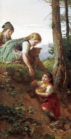 Felix Schlesinger - Children Picking Berries