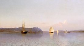 Francis A. Silva - Late Afternoon, Haverstraw Bay