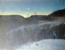 Christian Skredsvig - February Evening