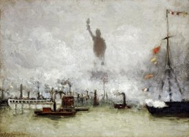 Francis Hopkinson Smith - The Statue of Liberty