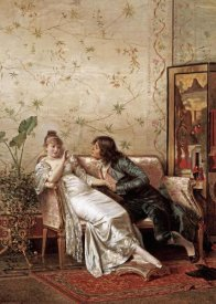 Joseph Frederic Charles Soulacroix - An Amorous Advance