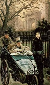James Jacques Tissot - The Convalescent