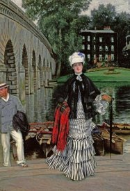 James Jacques Tissot - The Return From The Boating Trip