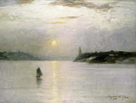 Bayard Henry Tyler - Sailing on The Hudson