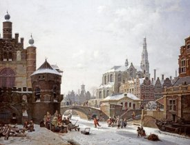 Jan Hendrik Verheyen - A Capriccio View of a Town