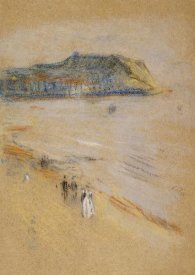 James McNeill Whistler - On The Beach, Hastings