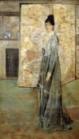 James McNeill Whistler - The Chinese Screen