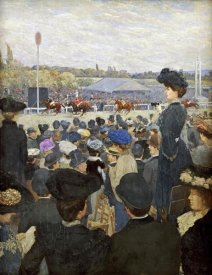 Edouard Zawiski - At The Races