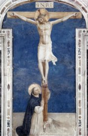 Fra Angelico - Crucifixcion With Saint Dominick