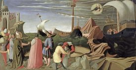 Fra Angelico - Predella Triptych Story of Saint Luke