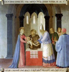 Fra Angelico - Story of The Life of Christ Circumcision of Jesus