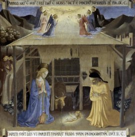 Fra Angelico - Story of The Life of Christ Nativity
