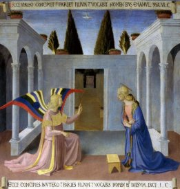 Fra Angelico - Story of The Life of Christ The Annunciation